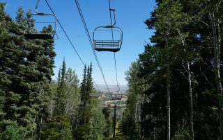 Park City Ski Lift in Summer