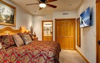 Town Lift Condominium master suite
