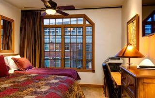 Town Lift Condominium bedroom window