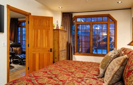 Town Lift Condominium master suite view