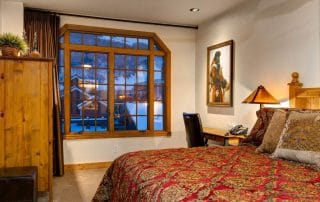 Town Lift Condon master suite bedroom