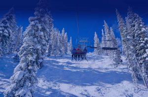 Ski Lift in Park City, Utah
